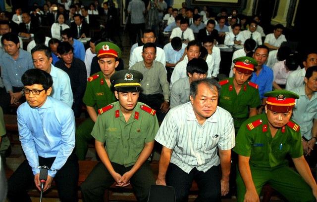 Phạm Công Danh cùng các đồng phạm tại phiên tòa