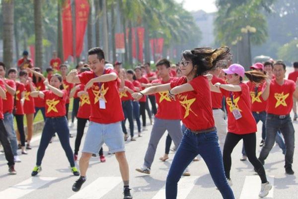 Dự kiến sẽ có hơn 500 người tham gia buổi flashmob (Ảnh:ST)
