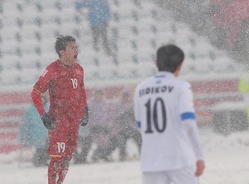 Quang Hải hụt giải Cầu thủ xuất sắc nhất giải U23 châu Á