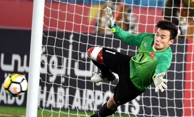 Thủ môn Bùi Tiến Dũng đã có một giải đấu U23 châu Á đầy xuất sắc