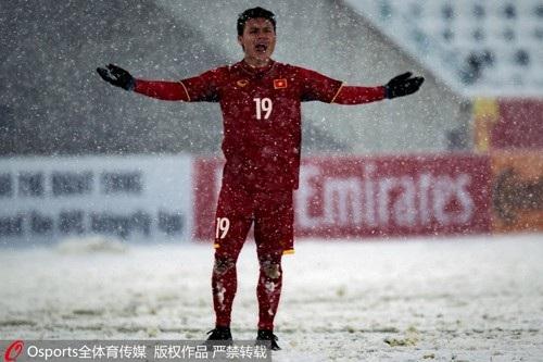 Người hâm mộ Trung Quốc khâm phục U23 Việt Nam