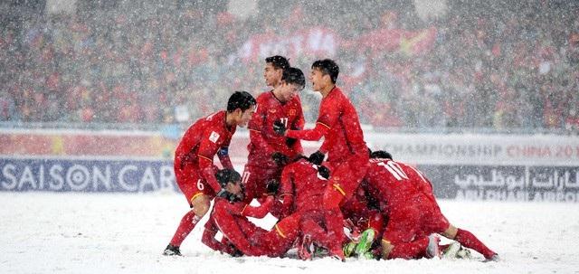 Các cầu thủ U23 Việt Nam được học cả bài học về phẩm chất, nghị lực khi thua trận