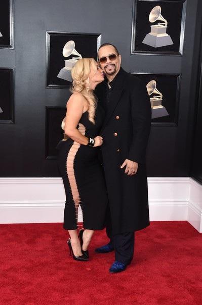 Vợ chồng Coco Austin- Ice-T bất ngờ xuất hiện trên thảm đỏ