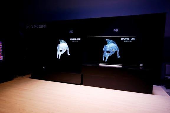 Samsung dẫn đầu màn hình lớn, đi đầu xu hướng TV 8K - 2