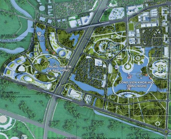 Khu vực Đông Bắc được định hướng phát triển thành trung tâm hành chính mới của thủ đô
