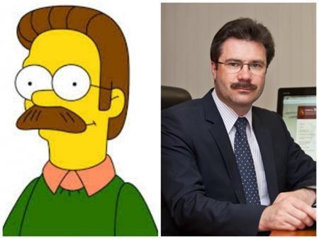 """Không nhiều người có được bộ râu ấn tượng của Ned Flanders trong """"The Simpsons"""""""
