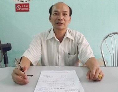 Ông Nguyễn Ngọc Diễn, Chi cục trưởng Chi cục ATVSTP, Sở Y tế tỉnh Thừa Thiên Huế (ảnh: Đ.H)