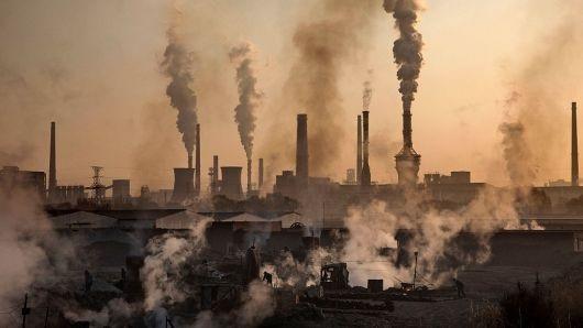 Tháng 9 vừa qua, chỉ số kinh doanh của các nhà máy Trung Quốc lần đầu tiên không tăng kể từ tháng 5/2017. (Nguồn: Kevin Frayer | Getty Images)