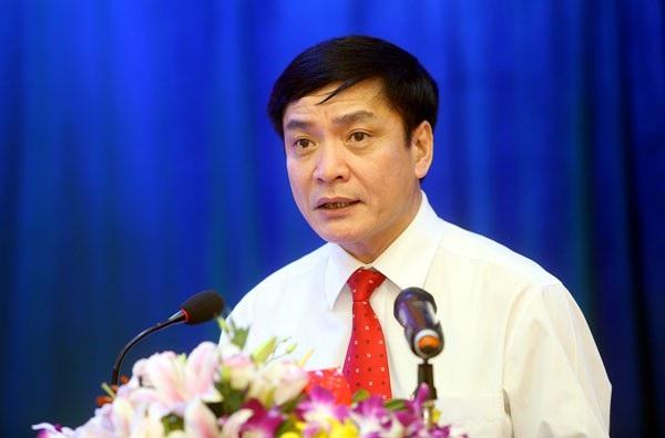 Ông Bùi Văn Cường, người vừa tái đắc cử Chủ tịch Tổng LĐLĐ Việt Nam