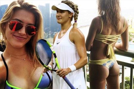 Eugenie Bouchard là một trong những tay vợt sexy nhất hành tinh