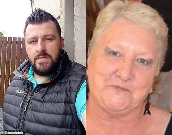 Tài xế xe tải David Shileds (trái) và nạn nhân vụ tai nạn Yvonne Blackman