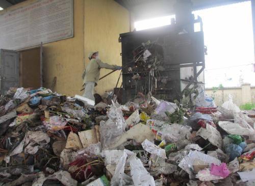 Lò đốt NFI-05 tại Thổ Tang,Vĩnh Tường Vĩnh Phúc năm 2014 và 2016