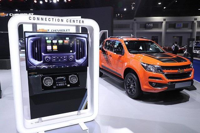 Các trang thiết bị trên Storm và các mẫu bán tải Chevrolet Colorado nói chung không hề thua kém các mẫu SUV hạng sang.