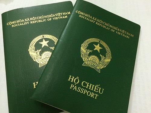 Hộ chiếu Việt Nam đứng vị trí thứ 90
