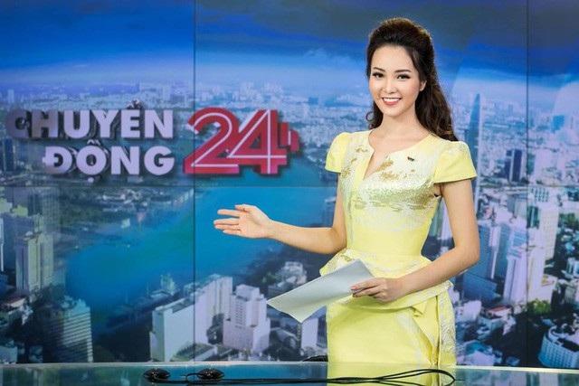 Sau BTV Hoài Anh, đến lượt Á hậu Thuỵ Vân gặp sự cố hi hữu trên sóng trực tiếp - 2