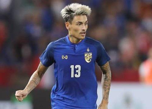 Philip Roller ghi bàn thắng duy nhất trận đấu giúp Thái Lan vượt qua Hong Kong