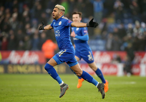 Riyad Mahrez tự tin trong màu áo Leicester City