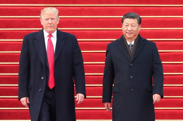 Tổng thống Mỹ Donald Trump và Chủ tịch Trung Quốc Tập Cận Bình (Ảnh: Reuters)