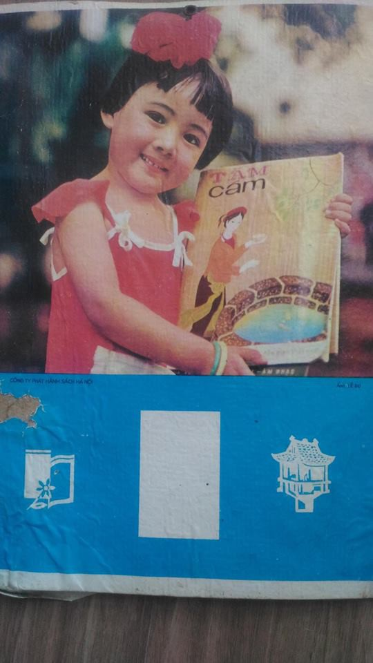 Tấm ảnh lịch chụp Hoài Anh lúc 4 tuổi từng là tấm bìa lịch quen thuộc của nhiều gia đình Hà Nội.