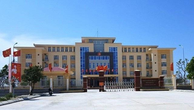 Trụ sở Huyện ủy Quảng Trạch.