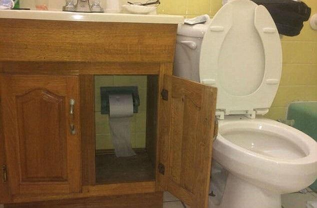 Mọi thứ cần bảo quản cẩn thận, kể cả giấy vệ sinh cũng không chừa.