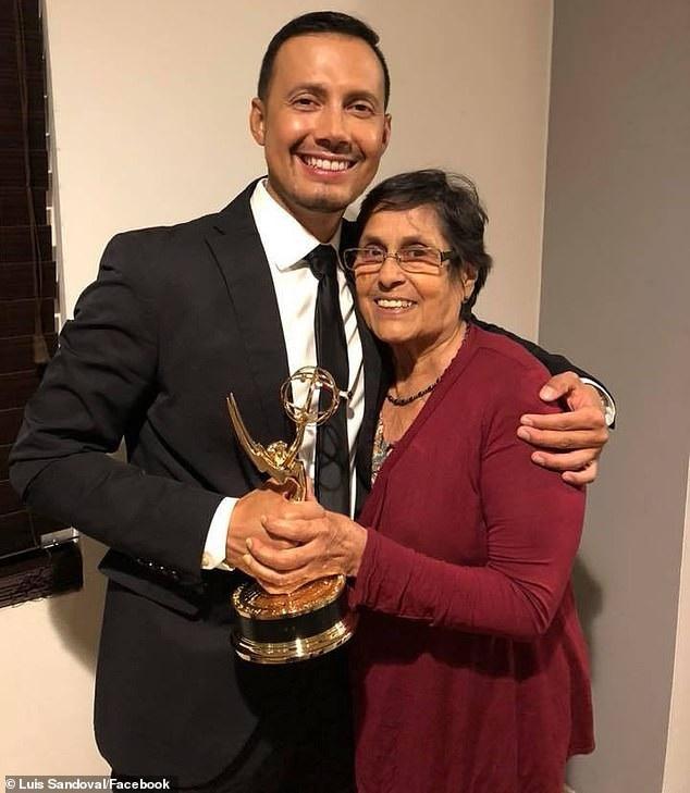 MC Luis Sandoval cảm ơn mẹ vì bà đã luôn ở bên yêu thương, cổ vũ mình ngay từ khi anh còn là một cậu bé với những khác biệt.