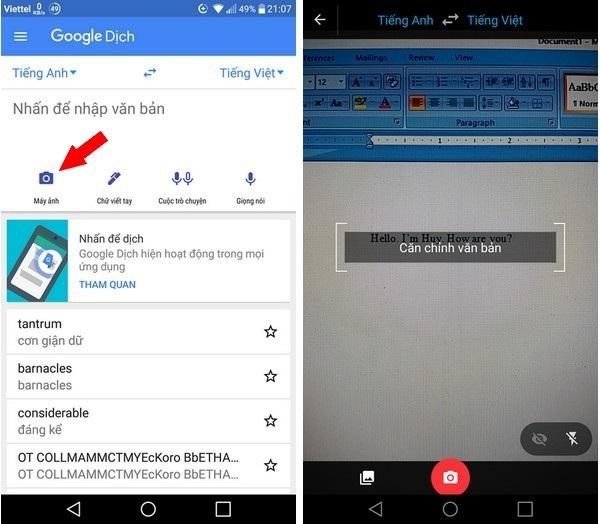 Ứng dụng Google Translate hỗ trợ tiếng Việt cho chức năng dịch hữu ích - 2
