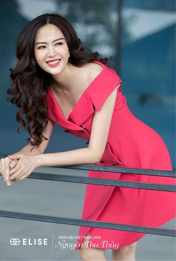 Hoa hậu Thu Thủy: 'Lúc nào tôi hạnh phúc là lúc tôi đẹp nhất' - 1
