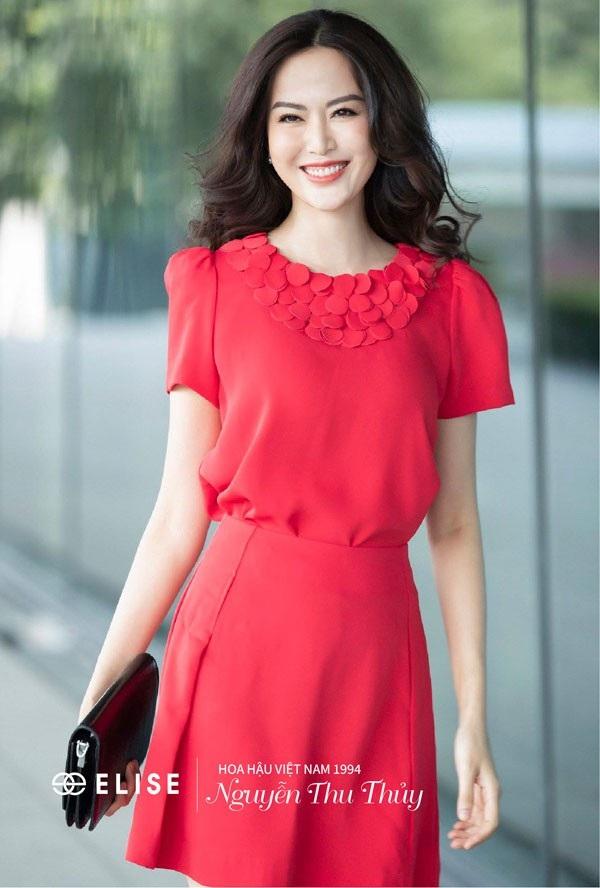 Hoa hậu Thu Thủy: 'Lúc nào tôi hạnh phúc là lúc tôi đẹp nhất' - 3