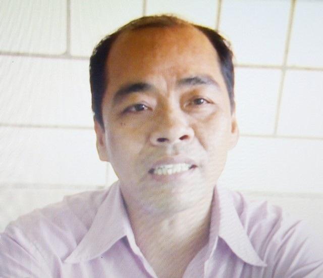 Ông Võ Văn Đậm khẳng định ông không viết đơn mà chỉ ký tên khi doanh nghiệp Hồ Mỹ Nhiên đưa cho ông.