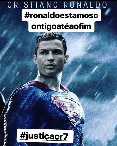 C.Ronaldo còn được ví von với Siêu Nhân