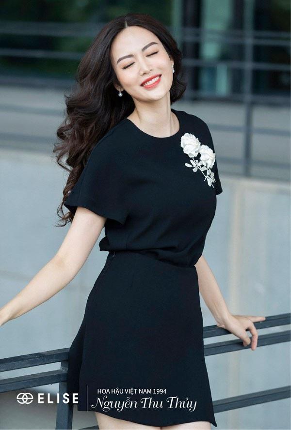 Hoa hậu Thu Thủy: 'Lúc nào tôi hạnh phúc là lúc tôi đẹp nhất' - 4