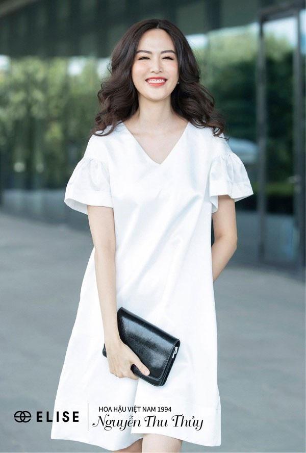 Hoa hậu Thu Thủy: 'Lúc nào tôi hạnh phúc là lúc tôi đẹp nhất' - 5