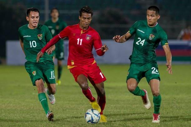 Myanmar thúc thủ 0-3 trước Bolivia