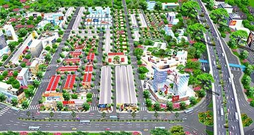 Vị trí đắc địa ngay nút giao cao tốc TPHCM - Long Thành - Dầu Giây và quốc lộ 51 của Central Mall Long Thành.