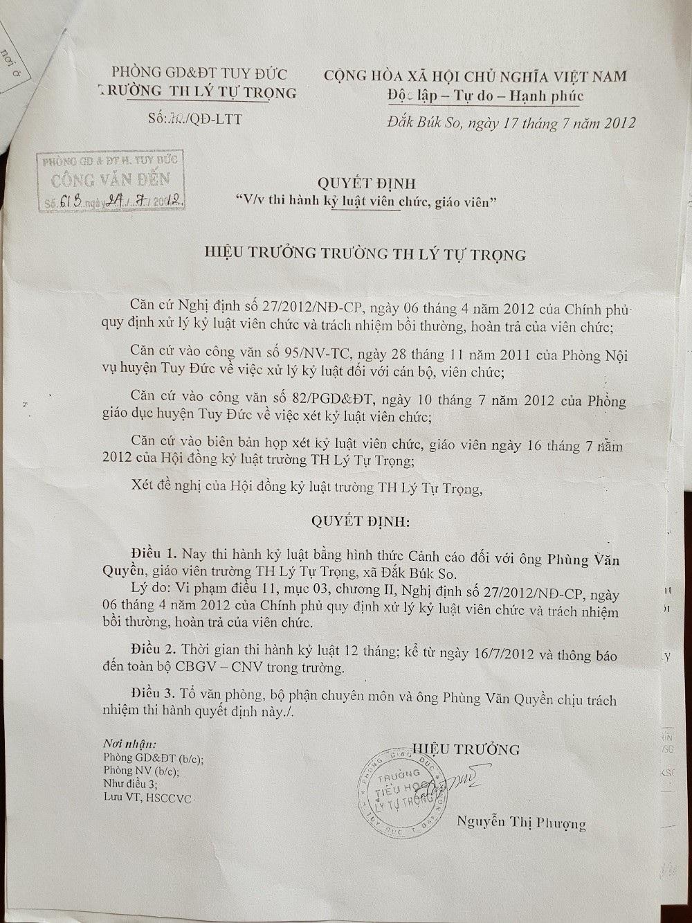 Vụ hồ sơ lý lịch sinh đôi tại Đắk Nông: Đã từng phát hiện 6 năm trước - Ảnh 2.
