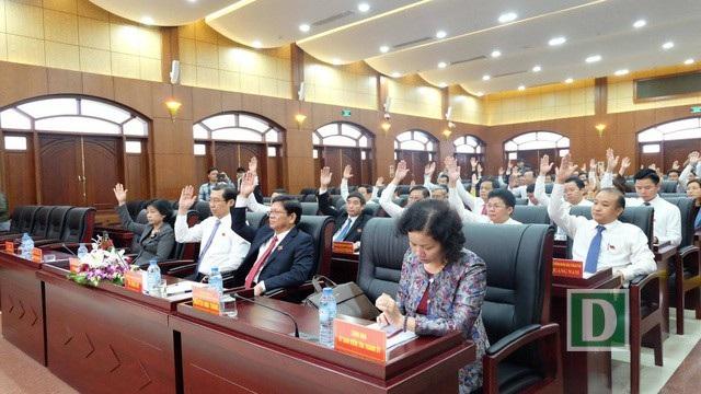 Dự kiến chương trình kỳ họp bất thường sắp tới của HĐND TP Đà Nẵng sẽ trình nhiều thay đổi nhân sự chủ chốt ở các ban, ngành (ảnh: kỳ họp giữa năm của HĐND TP)