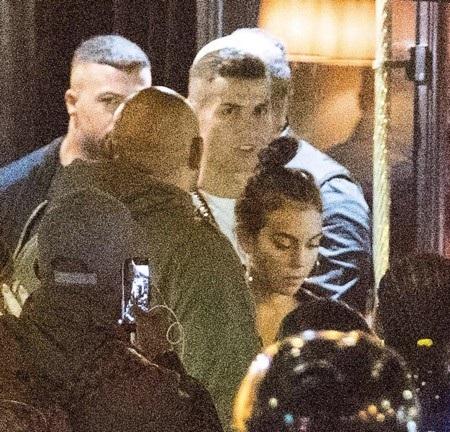 C.Ronaldo vừa lộ ảnh đi ăn tối cùng bạn gái