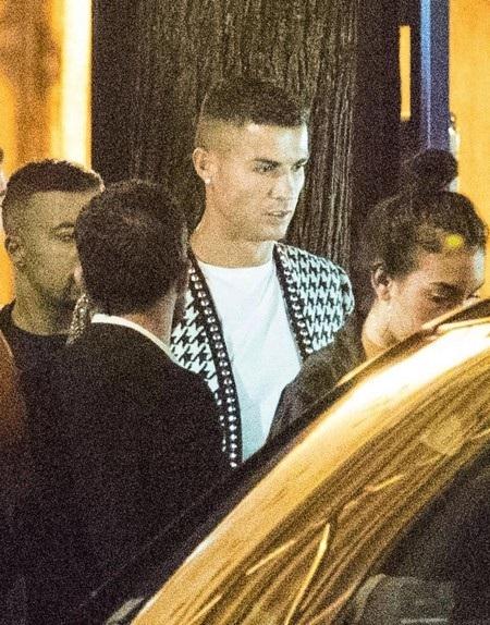 Trông C.Ronaldo vẫn tự tin như mọi ngày