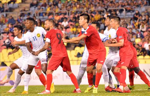 Malaysia thất bại trước Kyrgyzstan