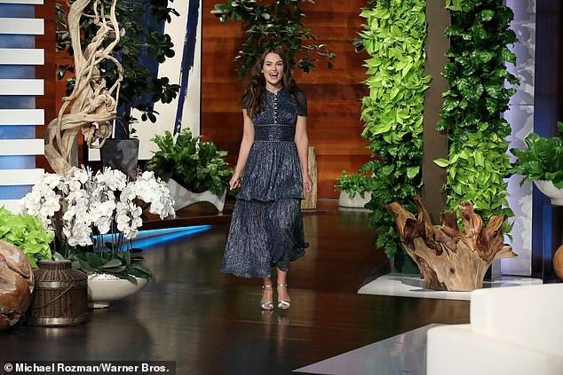 Nữ diễn viên Keira Knightley xuất hiện trong một talkshow truyền hình mới đây