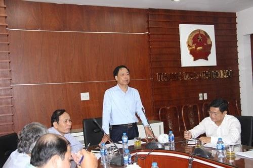 Phó Tổng Thanh tra Chính phủ Trần Ngọc Liêm phát biểu tại buổi công bố thanh tra hoạt động kinh doanh xổ số tại 8 tỉnh, thành phố phía Nam (Ảnh: TTCP).