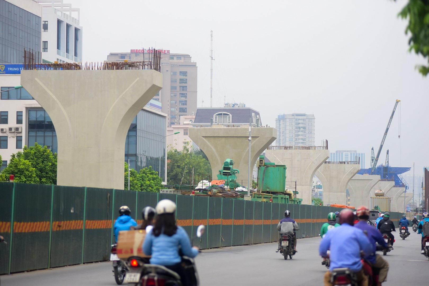 Toàn cảnh tuyến đường trên cao gần 10.000 tỷ giải cứu giao thông Ngã Tư Sở - cầu Vĩnh Tuy - Ảnh 2.