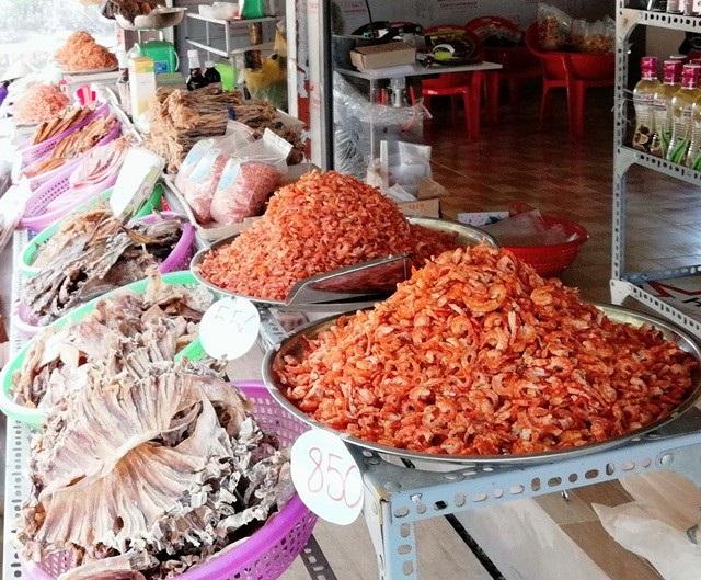Cà Mau nổi tiếng với cua, các loại khô ngon.