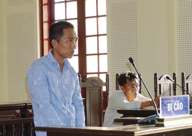 Bị cáo Nguyễn Văn Hùng tại phiên tòa.