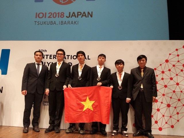 Đội tuyển Olympic Tin học quốc tế