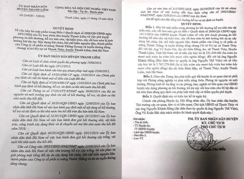 Vụ dân kiện Quyết định UBND huyện: Diễn biến bất ngờ khiến Toà bác đơn kiện! - Ảnh 1.