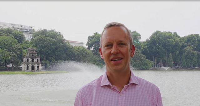 Đại sứ Anh tại Việt Nam Gareth Ward (Ảnh: Facebook/Gareth Ward)