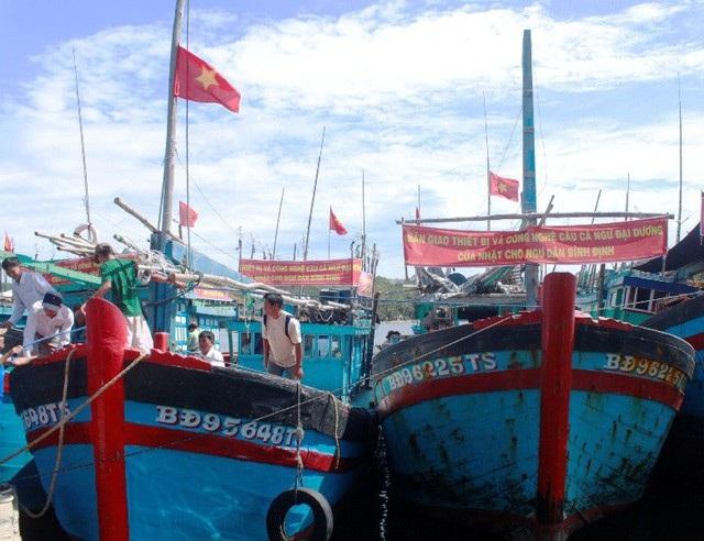 Hiện nay, các tàu cá vẫn mắc lỗi chưa báo trước 1 giờ khi cập cảng theo quy định của EU.