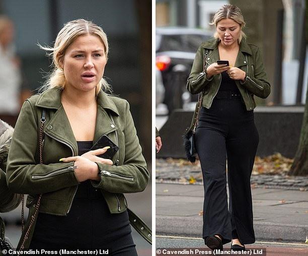 Scarlett Harrison đã bị cấm điều khiển xe trong vòng 16 tháng sau khi không thực hiện phần kiểm tra nồng độ cồn theo yêu cầu của cảnh sát.